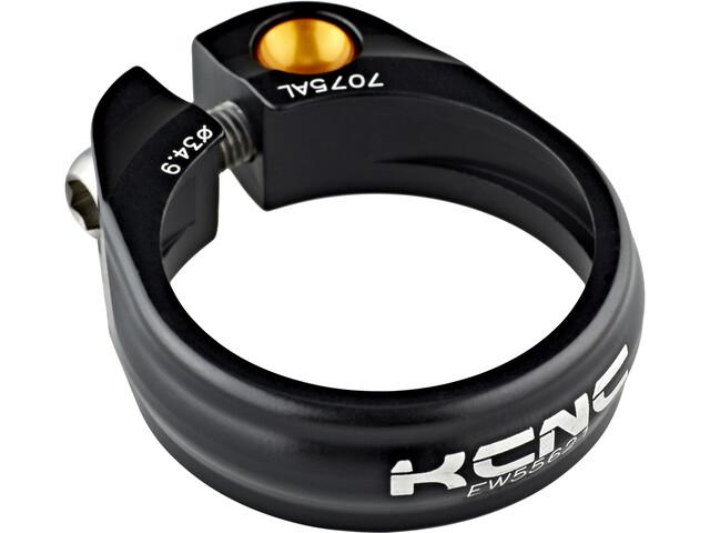 KCNC Road Pro SC 9 Saddle Clamp Ø34,9mm, zwart